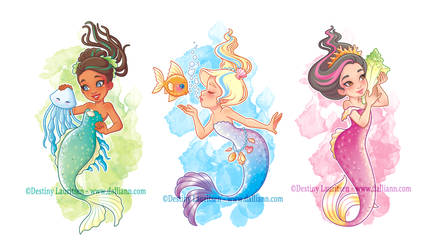 Mermaid Trio