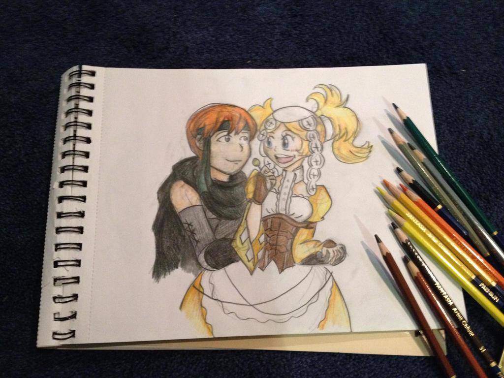 Sweet Couple by titanstargirl