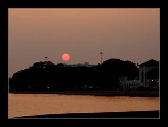 City Sunset by altruist