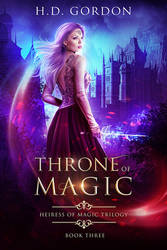 Throne of Magic - Book Cover