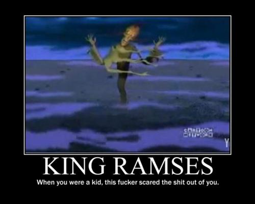 courage the cowardly dog king ramses lyrics to songs