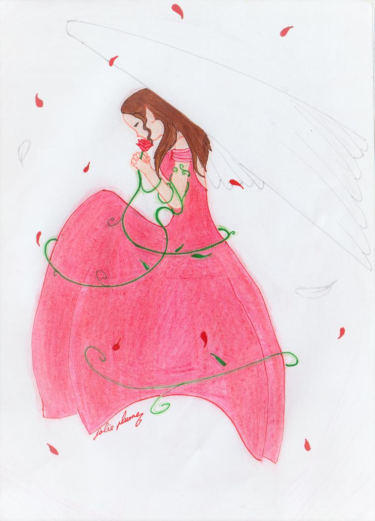 Rose d'espoir by Jolie-plume
