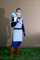 Sokka Warrior / war paint version by AvatarZara