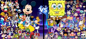 Cartoons vs Cartoons