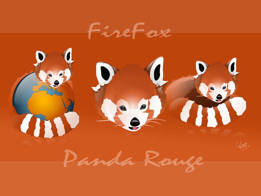 Firefox - Panda Rouge