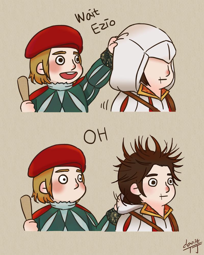 Wait Ezio by truejjack