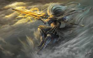 Dark Souls lll Fanart : Nameless King by truejjack