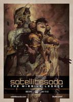 SatelliteSoda SDCC 2013 Poster by houvv