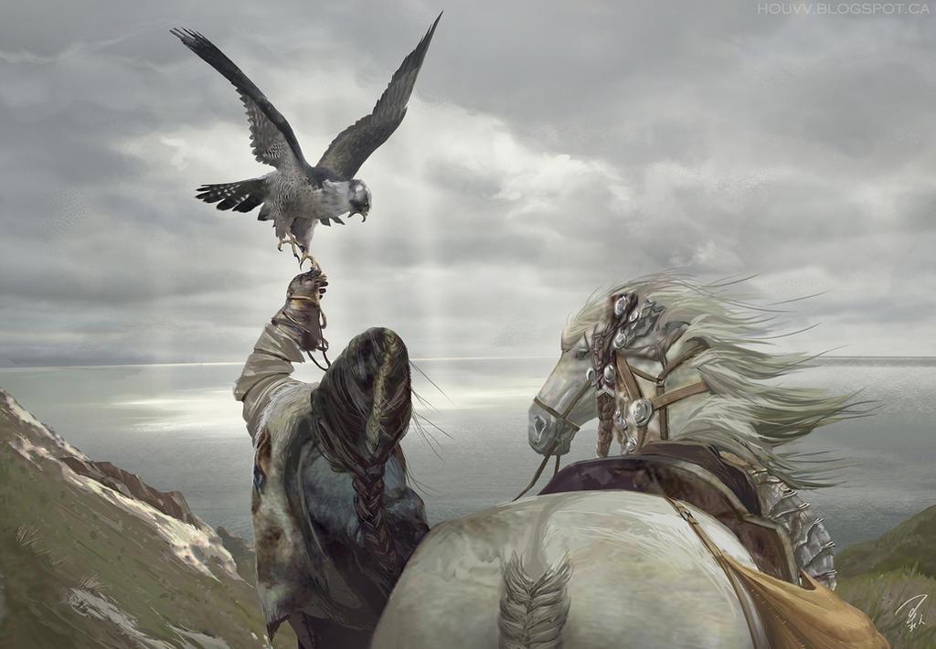 Messenger Arrive by houvv