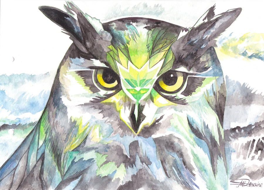 Dreamy Owl