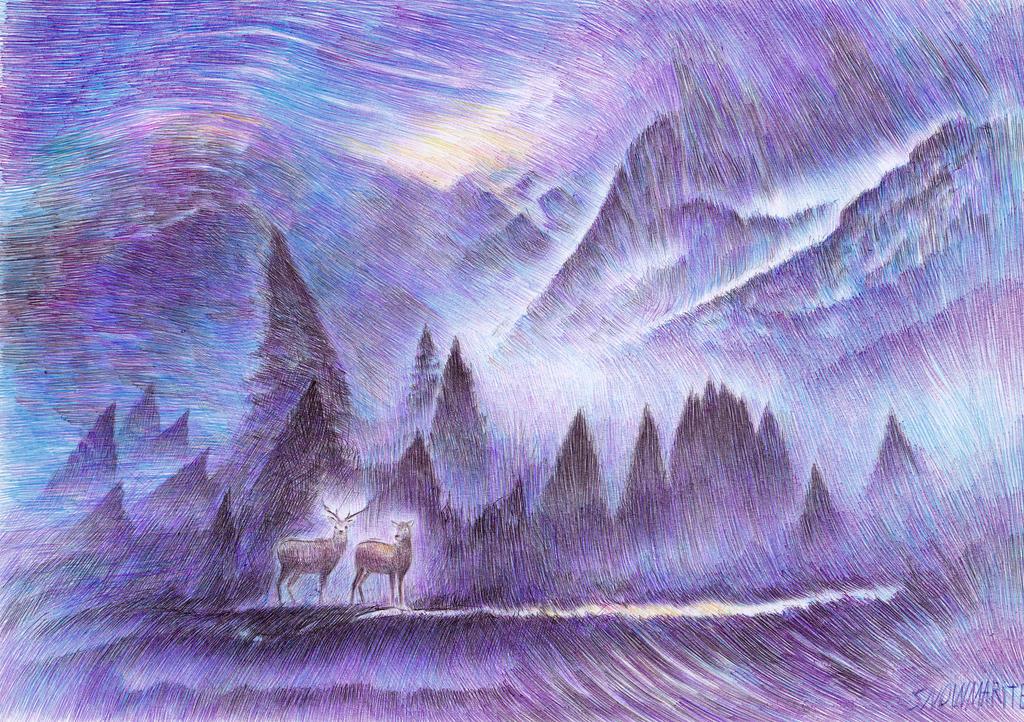 Winter Winds by snowmarite