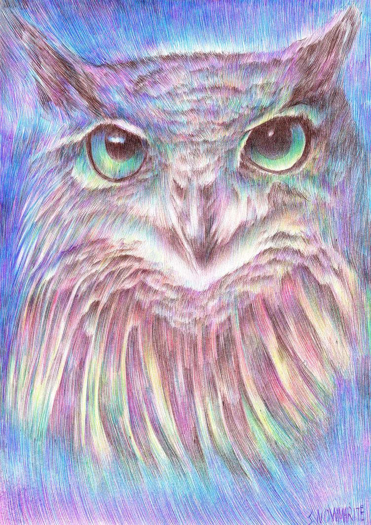 Vivid Owl