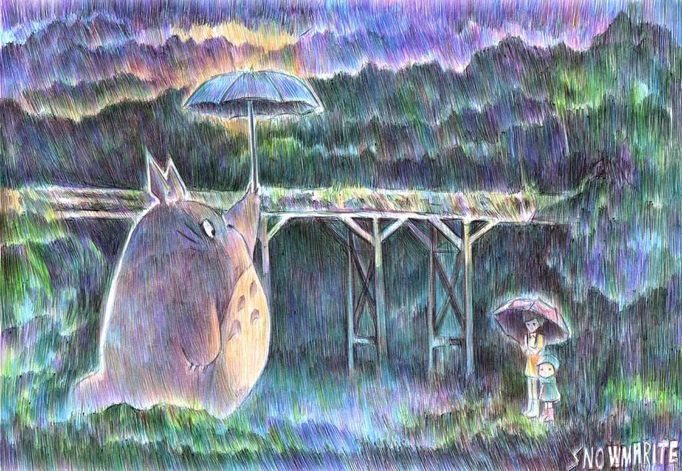 Totoro by snowmarite