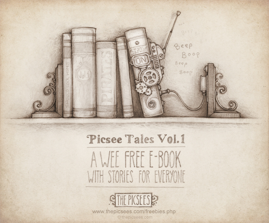 Picsee Tales Vol1...a wee free e-book by thePicSees