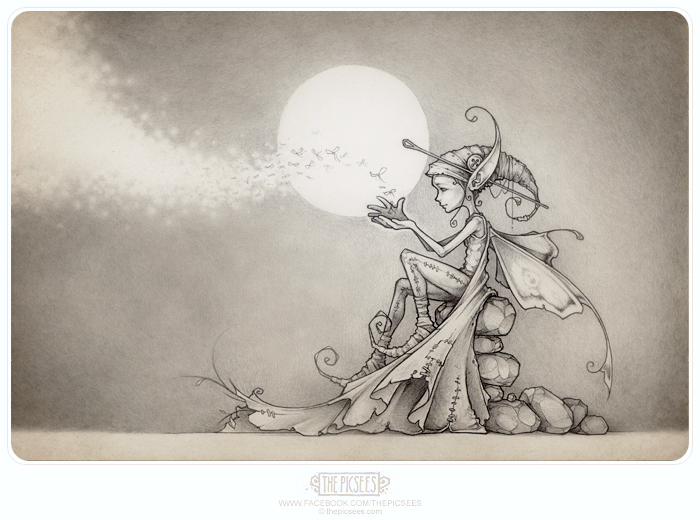 Nalu, the Firefly faerie... by thePicSees