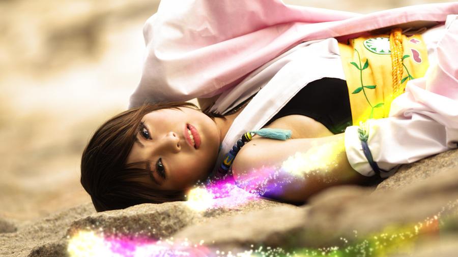 Yuna: Fight for Spira by SakuMiyuku