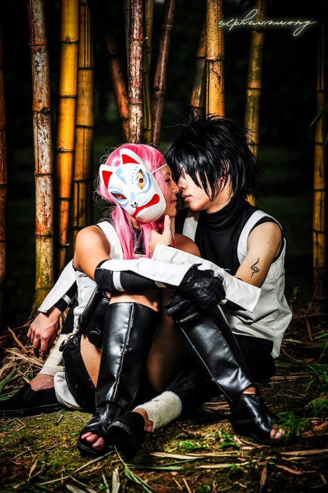 Uchiha Sasuke And Haruno Sakura Anbu: Moments by ...