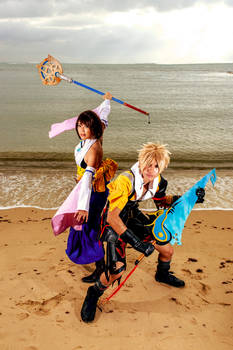 Yuna And Tidus: Battle