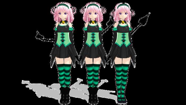 MMD - Momo Velia Deviluke evolution by SpehDaBlack