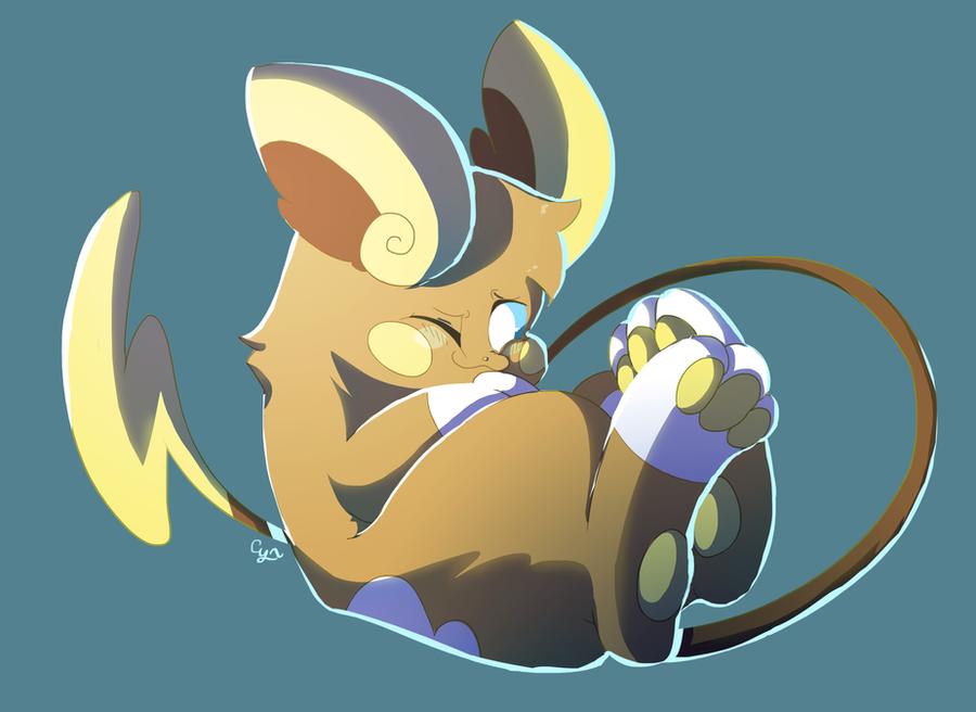 Pokemon Raichu Images