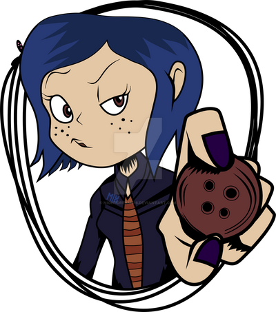 Coraline And The Secret Door Sticker Example By Nightdreams16 On Deviantart