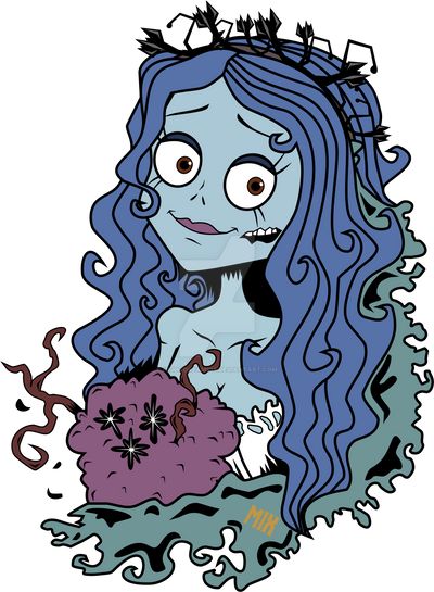 Emily - Corpse Bride (Sticker Example) by NightDreams16