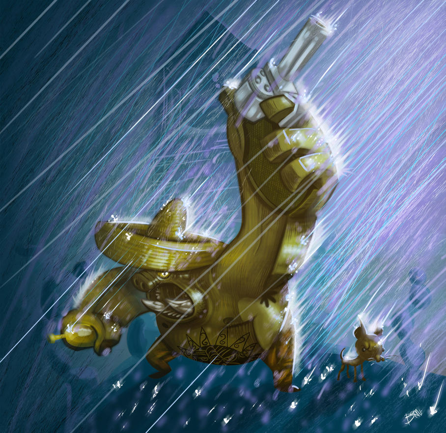 Fighting The Storm by TOTOPO