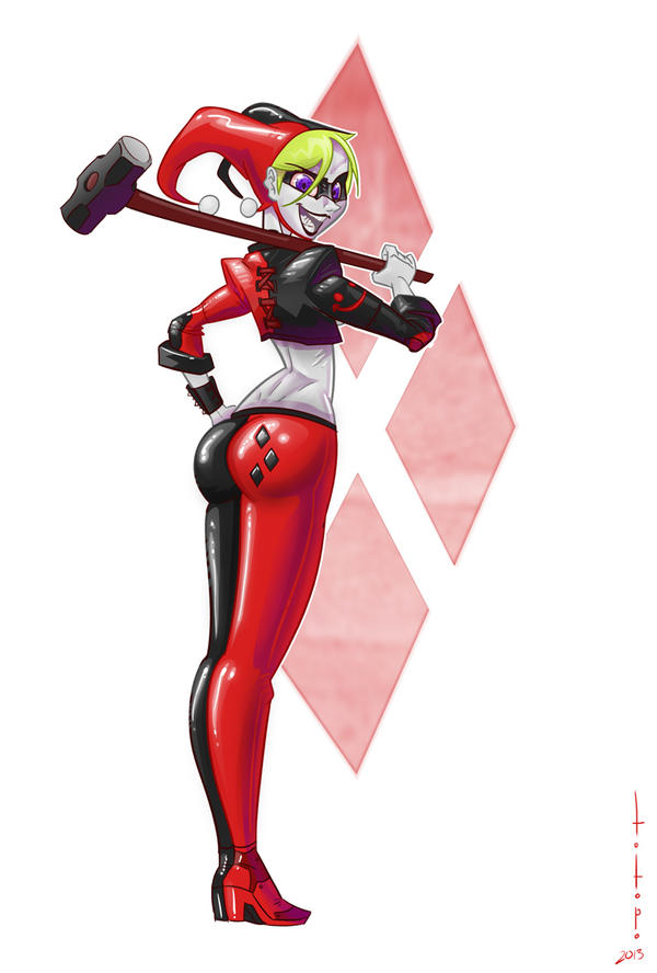 Harley Quinn`s smile by TOTOPO