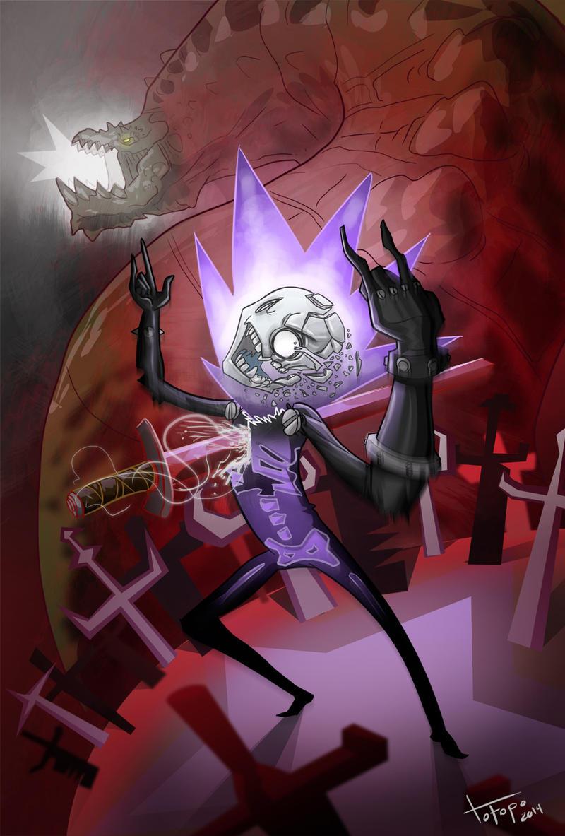 Metal Hell Berserker Nef by TOTOPO