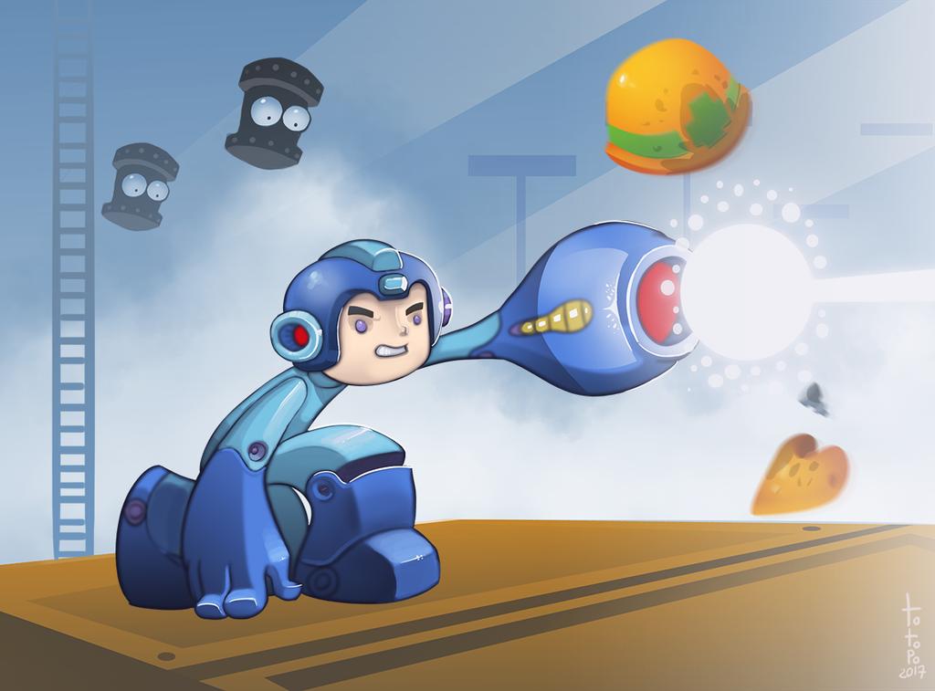Megaman by TOTOPO