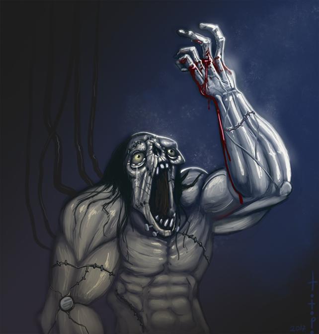 Frankenstein monster by TOTOPO