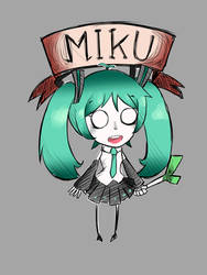 Dont starve Miku by Dr-Smile