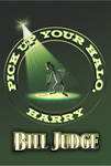 Pick Up Your Halo Harry by Bill Judge