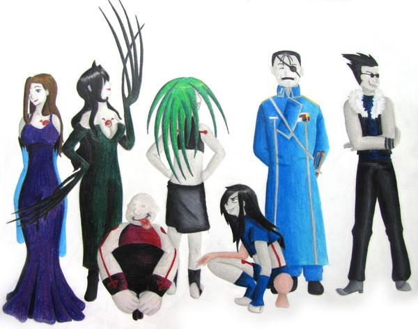 7 Deadly Sins by daisuke88 on DeviantArt