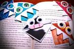 Kawaii Bookmarks by CyanicOrange