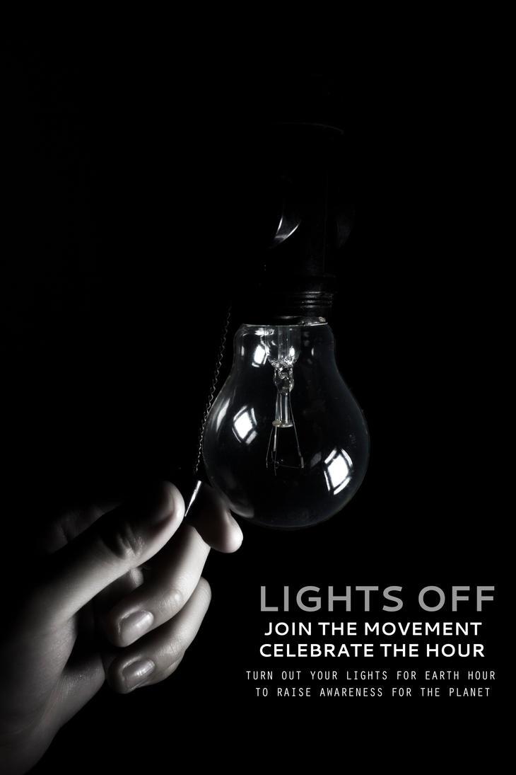 Earth Hour by CyanicOrange