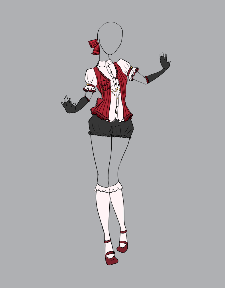 .Outfit Adopt 7(CLOSED). by Scarlett-Knight on DeviantArt