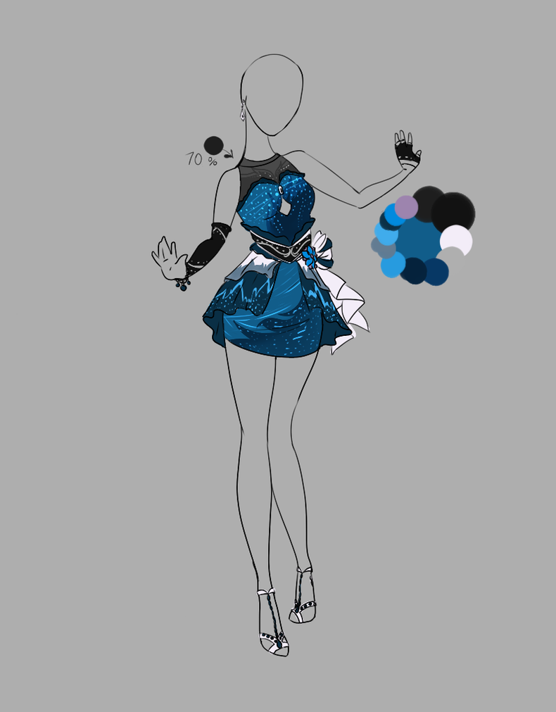 .::Outfit Adopt 8(CLOSED)::. by Scarlett-Knight