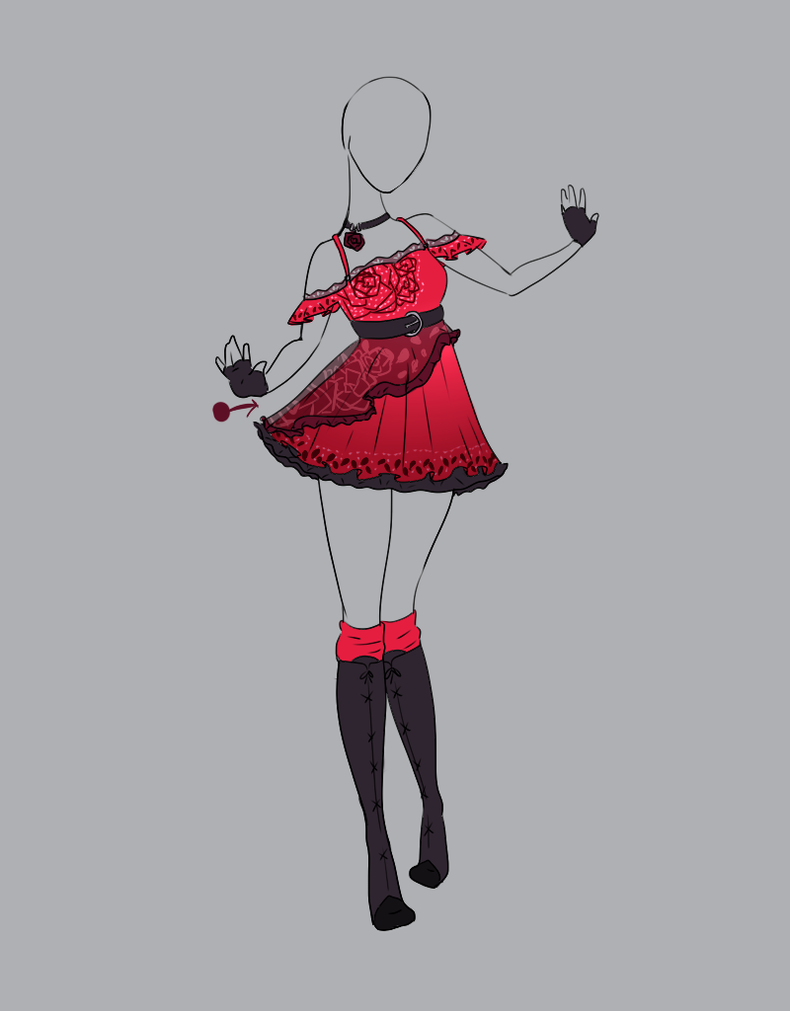 .Outfit Adopt 10 (CLOSED). by Scarlett-Knight on DeviantArt