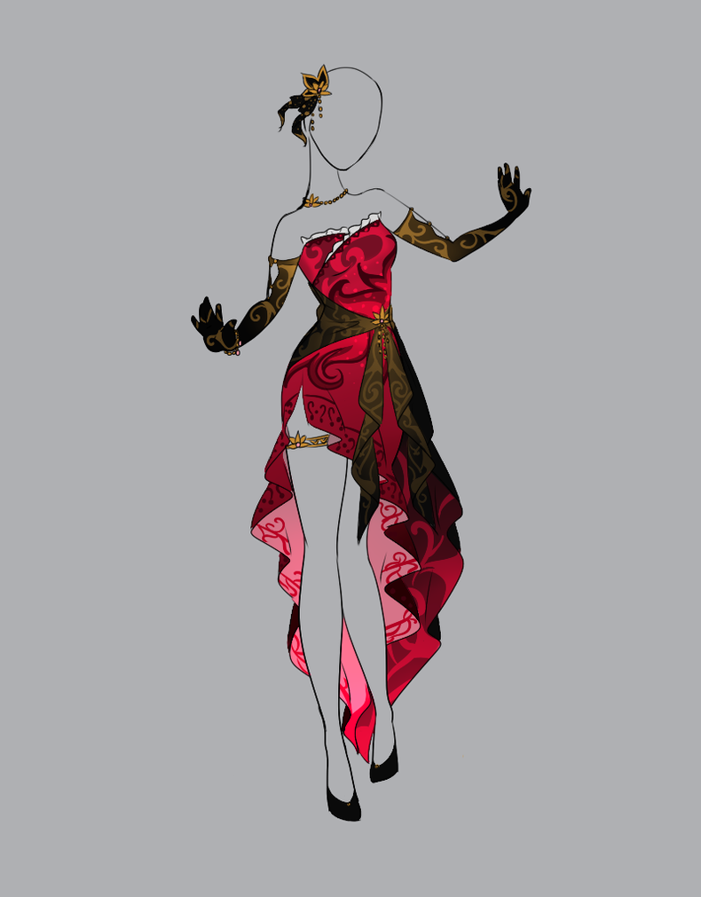 .::Outfit Adopt 15(CLOSED)::. by Scarlett-Knight