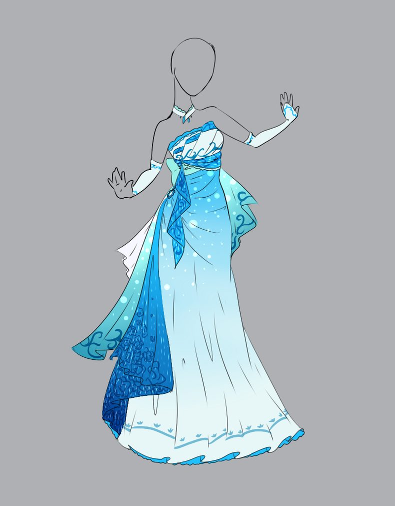 Outfit adopt 17 closed by scarlett knight on deviantart for Starting a wedding dress business