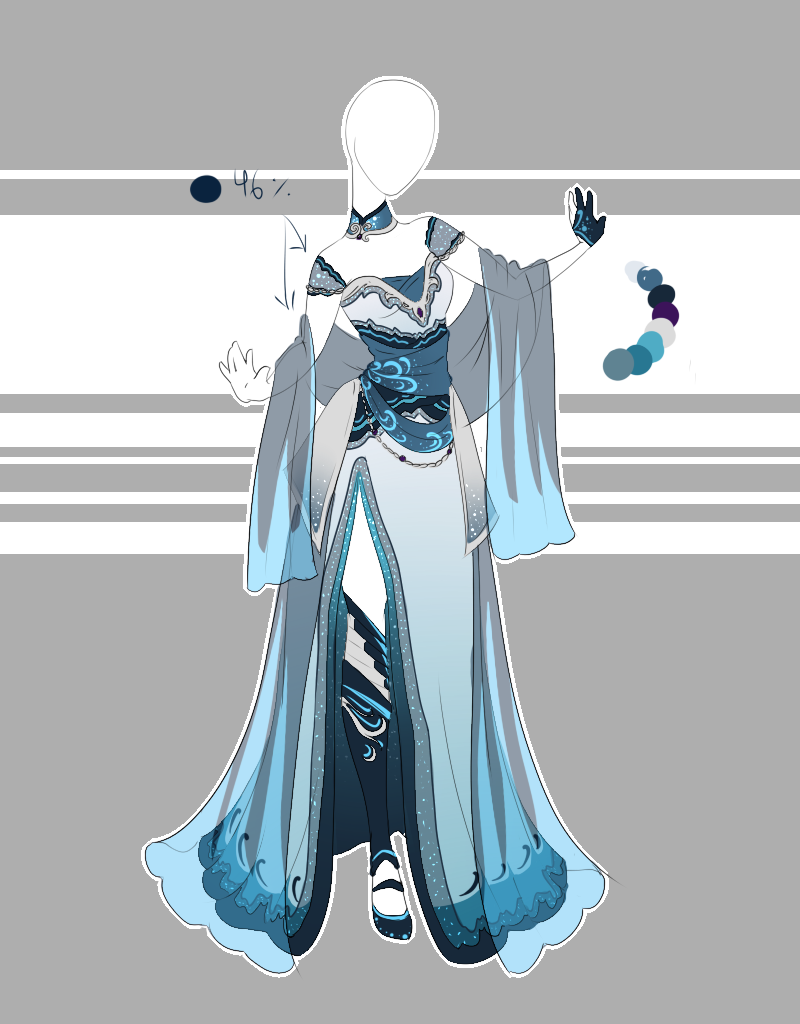 .::Outfit Adoptable 56(CLOSED)::. by Scarlett-Knight