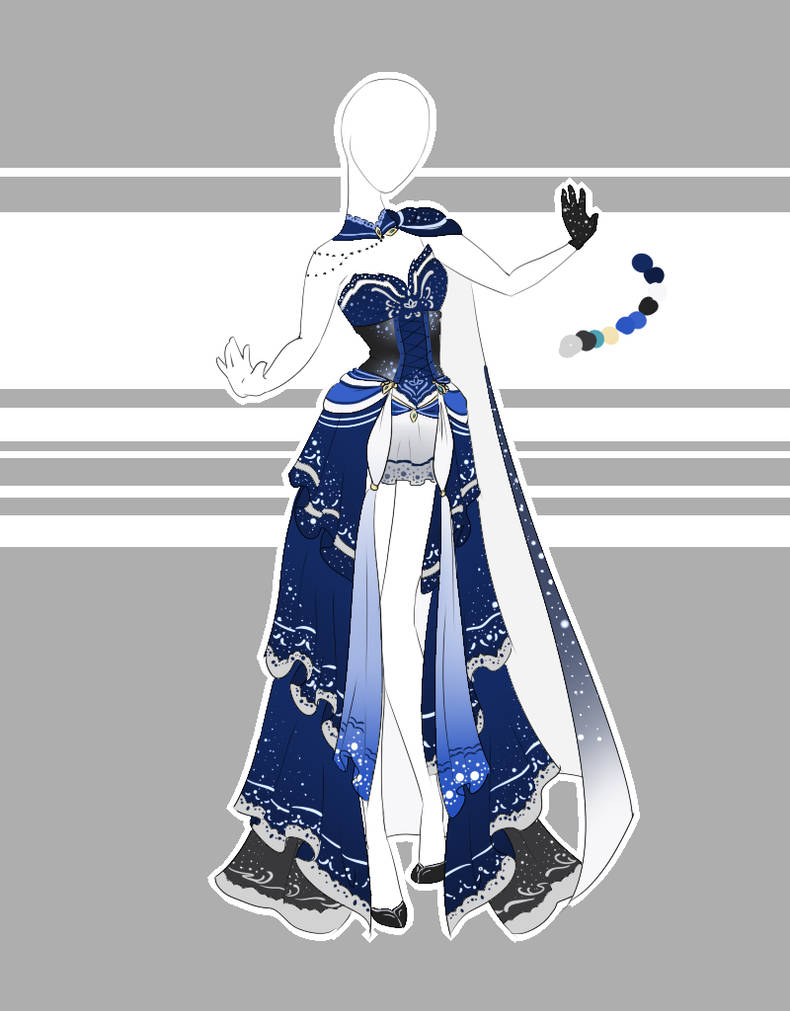 .::Outfit Adoptable 58(CLOSED)::. by Scarlett-Knight