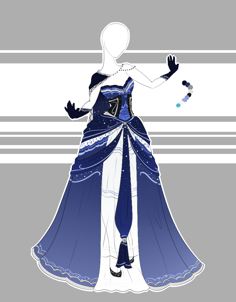Outfit Adoptable 63 Closed By Scarlett Knight On