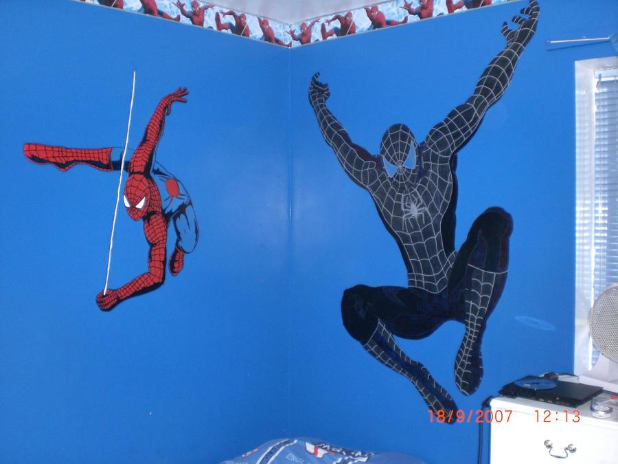 Spiderman Wall Art By Snakes23 On Deviantart
