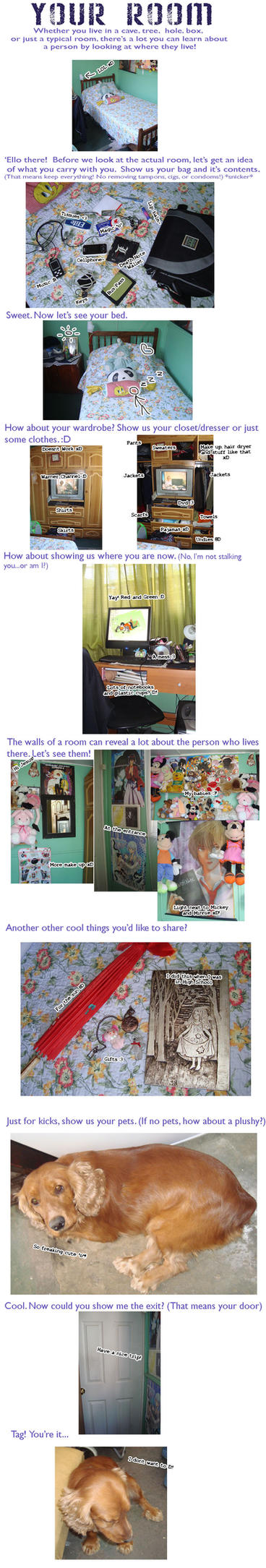 Room meme by MizaO-Chan