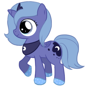 Luna filly remake by TheKisame