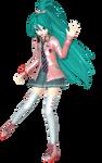 Project Diva Arcade Future Tone Ribbon Girl Miku