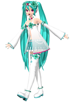 Project Diva Arcade Future Tone Spiritual Miku