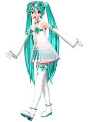 Project Diva Arcade Future Tone Spiritual Miku by WeFede